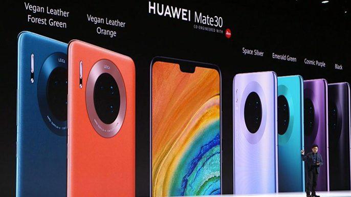 Huawei ventes Mate 30
