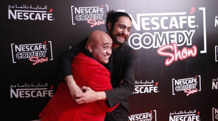 Jaâfer Guesmi et Ahmed Laâjimi NESCAFÉ COMEDY SHOW