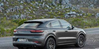 Porsche nouveau Cayenne Coupé
