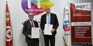 Tunisie Telecom et Esprit School of Business