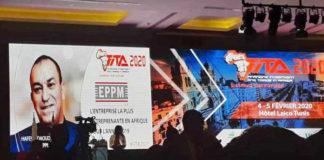 EPPM élue Entreprise la plus entreprenante en Afrique année 2019