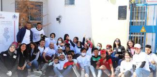 Ma3an campagne de nettoyage de Kairouan Nord