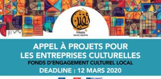 Tfanen appel à projets pour les entreprises culturelles