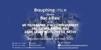 Université Paris Dauphine I Tunis lance Bac à Dau