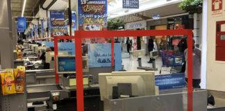Carrefour plexiglas caisses