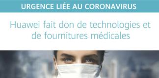 Huawei fait don de technologie au ministère de la santé