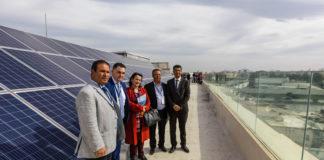 L'école américaine de Tunis panneaux solaires
