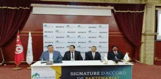 Partenariat entre SONY et MONTBLANC