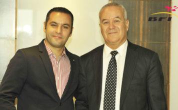 Sami Ben Hariz DG de BFI et Habib Ben Hariz du groupe