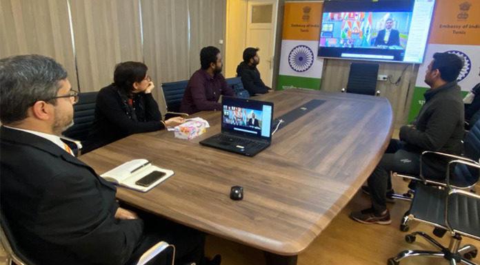idéoconférence du Premier Ministre Indien avec les Ambassadeurs