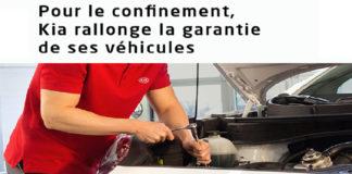Kia garantie véhicules confinement