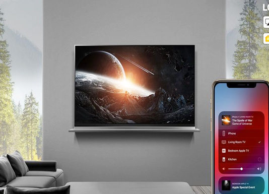 LG AirPlay et HomeKit téléviseurs