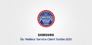 Samsung Tunisie label Meilleur service client année 2020