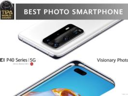 TIPA HUAWEI P40 meilleur smartphone photo 2020