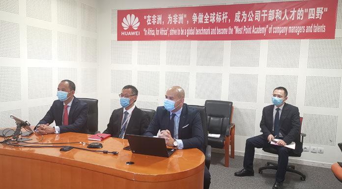 Huawei et le ministère des Technologies de la Communication et de la Transformation Digitale