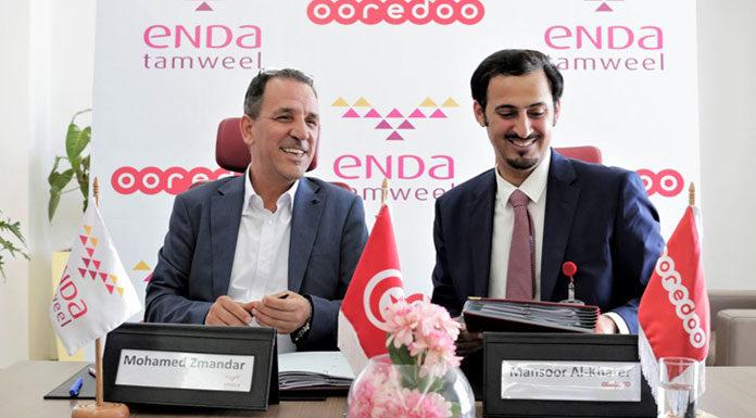 Partenariat entre Ooredoo Tunisie et Enda Tamweel