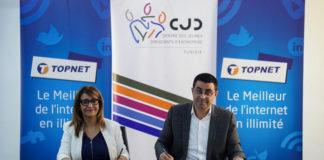 partenariat entre TOPNET et le CJD
