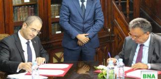 accord entre Le Ministère des Finances et la BNA