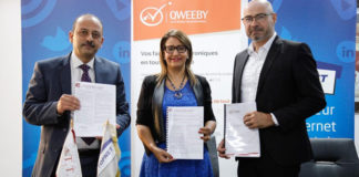 partenariat entre TOPNET, TTN et QWEEBY