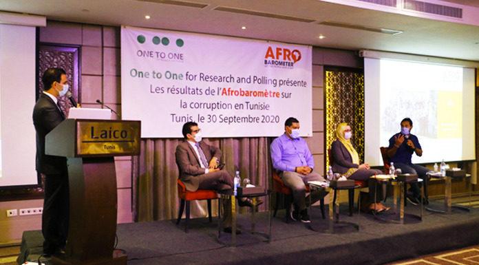 Afrobaromètre sur la corruption en Tunisie