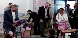 Ooredoo soutien élèves quatre écoles Béja