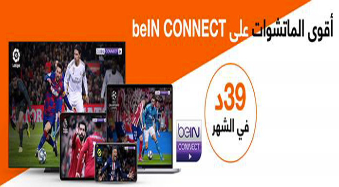 partenariat entre Orange Tunisie et beIN CONNECT.