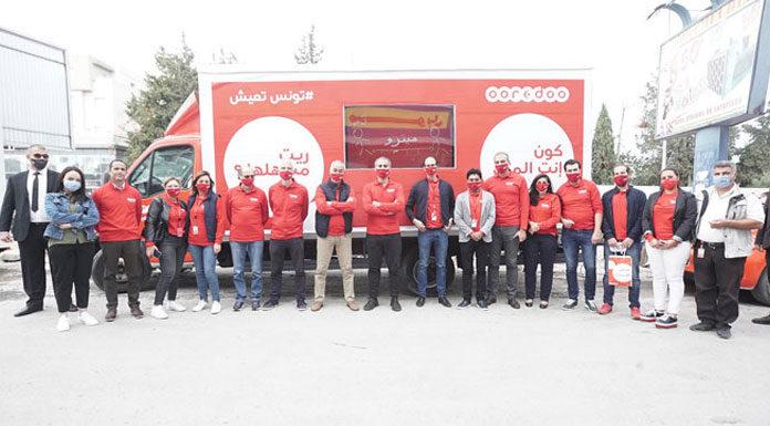 Ooredoo Tunisie RSE Covid-19