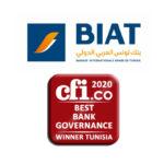 BIAT prix meilleure gouvernance bancaire en Tunisie