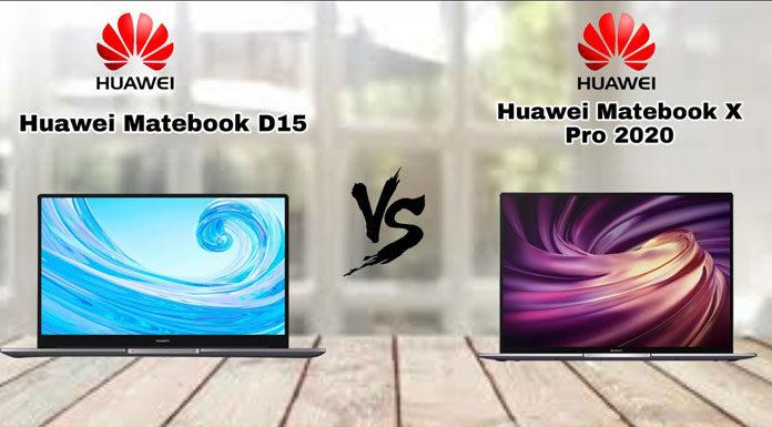 MateBook X Pro et HUAWEI MateBook D15