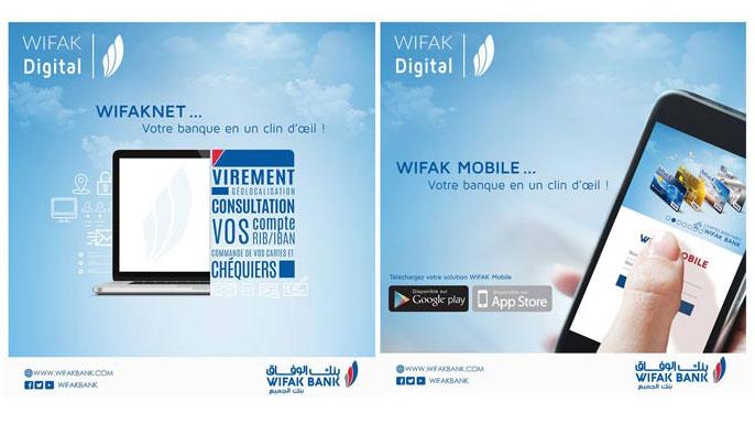 Wifak Bank solutions WIFAK Pay et WIFAK Pay Pro