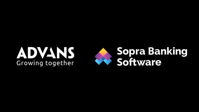 groupe Advans et Sopra Banking Software