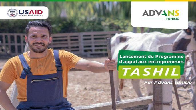 Advans Tunisie programme d'appui TASHIL