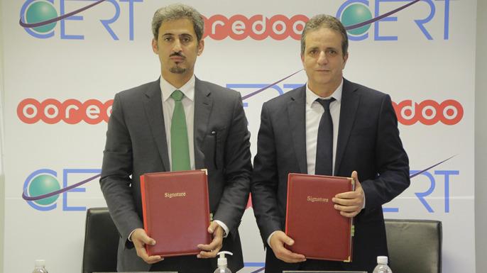 partenariat Ooredoo et CERT