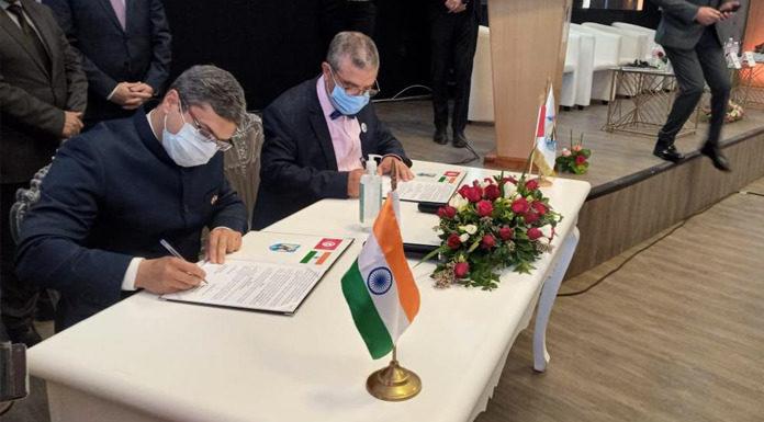 Ambassade de l'Inde signe un protocole d'accord Municipalité de Raoued