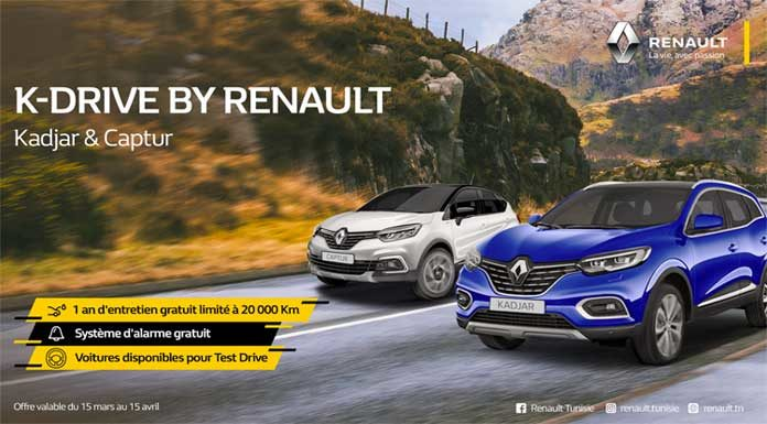K-drive by Renault