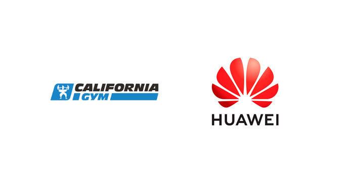 Huawei et California Gym