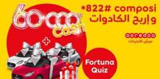 Jeu quiz Fortuna 2021 by Ooredoo