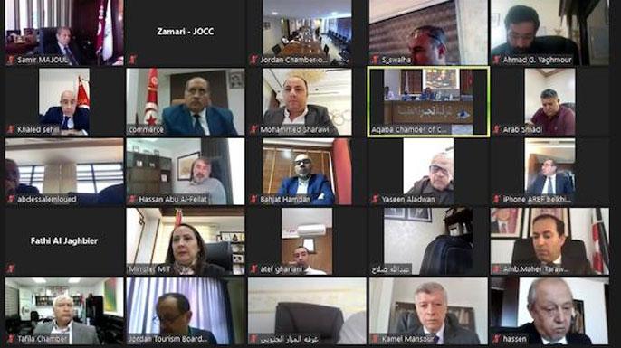 Réunion du Conseil d'affaires tuniso-jordanien