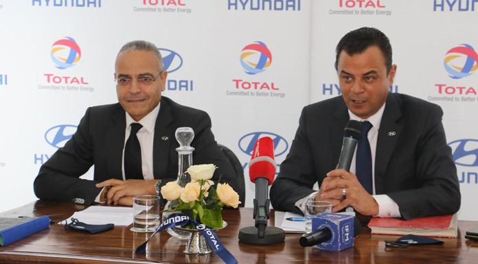 Total Tunisie et Hyundai