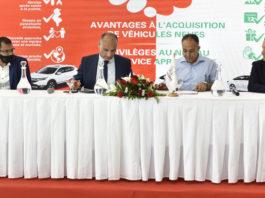 Honda Tunisie Signature de contrat avec le syndicat des pharmaciens