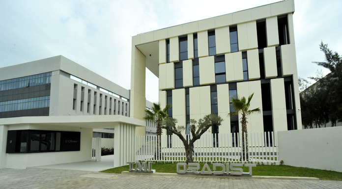 Inauguration du nouveau siège du groupe TMI